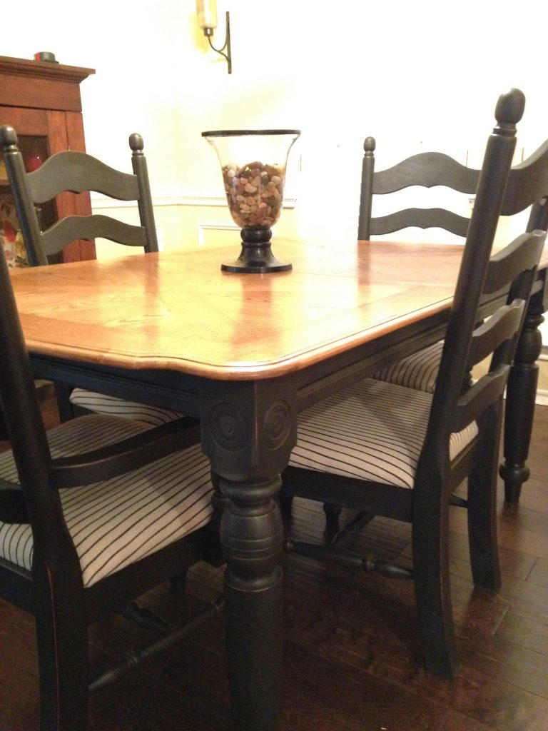 Black Dining Set