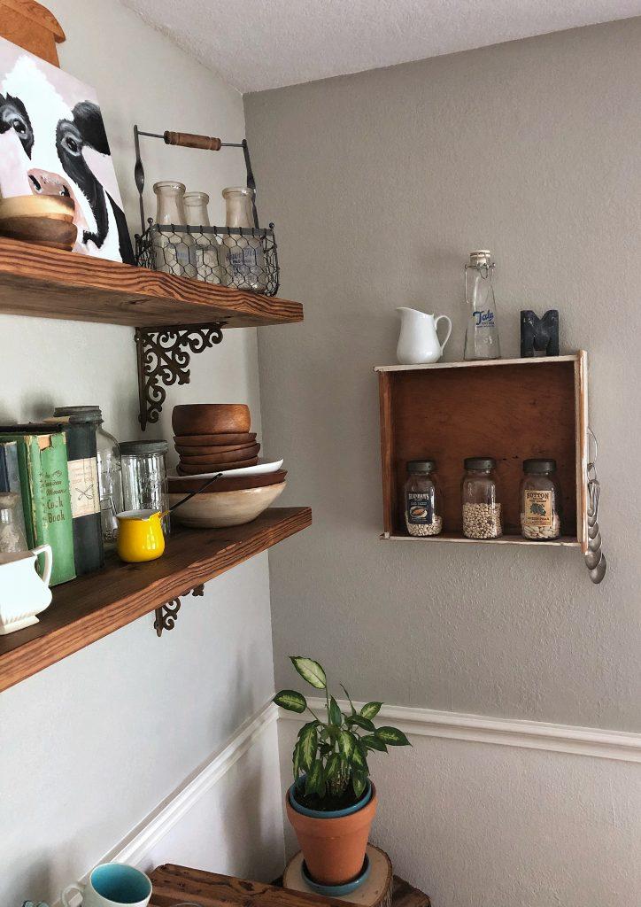 Breakfast room wall decor