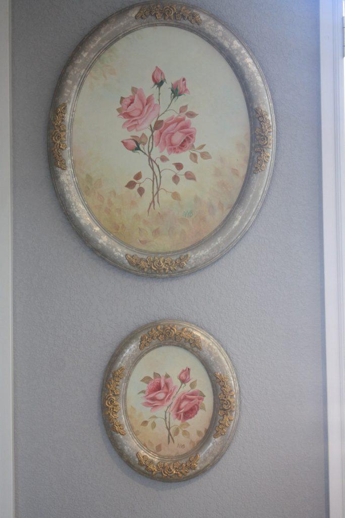 Rose paintings